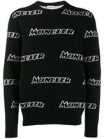 Moncler Logo Intarsia Sweater SS20