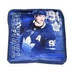 Maple Leafs Tavares Jump Throw Pillow