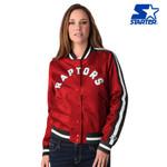 Raptors Starter Ladies Competition Satin Jacket