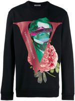 Valentino X Undercover Print Crew-neck Sweater FW19