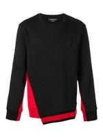 Alexander McQueen Contrast Panels Sweatshirt