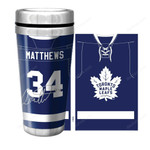 Maple Leafs Matthews Jersey Travel Mug