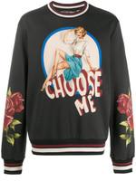 Dolce & Gabbana Graphic Print Sweatshirt SS20