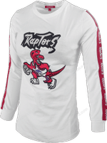 Raptors Mitchell & Ness Ladies HWC Cut Long Sleeve