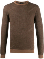 Fendi Intarsia Knitted FF Motif Sweater SS20