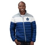 Maple Leafs GIII Men's Cold Front Quilted Jacket