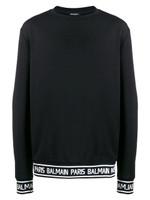 Balmain Logo Printed Sweatshirt FW19