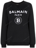Balmain Logo-Print Jumper