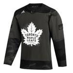 Maple Leafs Adidas Men's Authentic Practice Camo Jersey