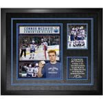 McDavid Oilers Unsigned First Hat-Trick Collage Frame