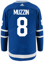 Maple Leafs Adidas Authentic Men's Home Jersey - MUZZIN
