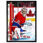 """Price Signed Canadiens """"Looking Right"""" on Canvas Framed"""