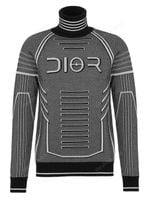 Dior Homme Technical Wool Turtleneck Sweater FW19