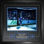 "Tavares Signed '1st Step onto Ice as a Maple Leaf' 11""x14 Photo Framed"
