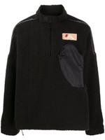 Off-White Zipped Pocket Fleece Jumper FW19