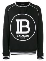 Balmain Drawstring Logo Sweater FW19