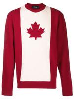 Dsquared2 Canadian Flag Jumper FW19