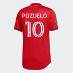 Toronto FC Adidas Men's 2020 Authentic Home Jersey - POZUELO