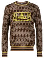 Fendi FF Logo Jumper FW19