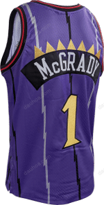 Raptors Men's Mitchell & Ness Swingman CNY Purple Jersey - McGRADY