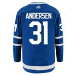 Maple Leafs Adidas Authentic Men's Home Jersey - ANDERSEN
