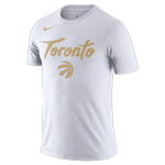 Raptors Nike Men's 2019 City Drifit Tee - White