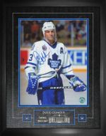 """Maple Leafs Doug Gilmour """"Bloody Warrior"""" Signed 16x20 Photo Framed"""