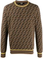 Fendi FF Logo Knitted Jumper SS20