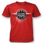 Raptors 905 Men's Logo Tee - Red