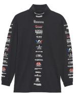 Balenciaga Logo List Highneck Sweater FW19