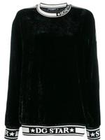 Dolce And Gabbana DG Star Trim Sweatshirt FW19