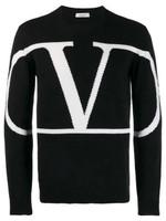 Valentino Cashmere VLogo Sweater FW19