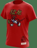 Raptors Mitchell & Ness Men's CNY Dino Logo Tee