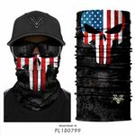 US Punisher 3D Seamless Bandana