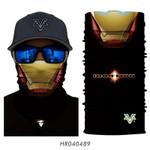 Iron Man Marvel 3D Seamless Magic Bandana