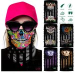 Magic sport bicycle bandanas outdoor cycling scarf Shield Face Mask Bandana Headband women