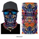 BigBang Half Face Mask Neck Gaiter Magic Bandana