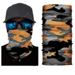 Face Mask and Neck Warmer with Dust and Sun UV Protection (CLASSIC CAMOUFLAGE S176)