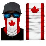 Face Mask and Neck Warmer with Dust and Sun UV Protection (Flag S183)