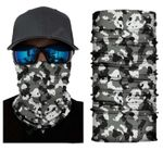 Face Mask and Neck Warmer with Dust and Sun UV Protection (Camouflage S145)