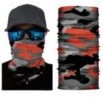 Face Mask and Neck Warmer with Dust and Sun UV Protection (CLASSIC CAMOUFLAGE S173)