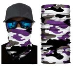 Face Mask and Neck Warmer with Dust and Sun UV Protection (CLASSIC CAMOUFLAGE S182)