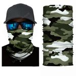 Face Mask and Neck Warmer with Dust and Sun UV Protection (Camouflage S45)
