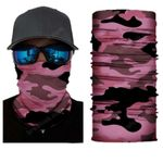 Face Mask and Neck Warmer with Dust and Sun UV Protection (CLASSIC CAMOUFLAGE S179)