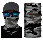 Face Mask and Neck Warmer with Dust and Sun UV Protection (CLASSIC CAMOUFLAGE S177)