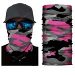 Face Mask and Neck Warmer with Dust and Sun UV Protection (CLASSIC CAMOUFLAGE S174)