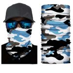 Face Mask and Neck Warmer with Dust and Sun UV Protection (CLASSIC CAMOUFLAGE S181)