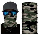 Face Mask and Neck Warmer with Dust and Sun UV Protection (CLASSIC CAMOUFLAGE S178)