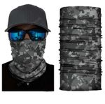 Face Mask and Neck Warmer with Dust and Sun UV Protection (Camouflage S131)
