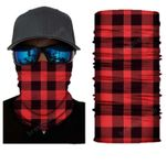 Face Mask and Neck Warmer with Dust and Sun UV Protection (Flat Pattern S126)